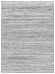 Buitenvloerkleed Petra - Light_Mix Vloerkleed 140X200 Echt Modern Handgeweven Lichtgrijs/Wit/Creme ( India)
