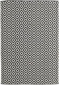 Torun - Zwart/Neutral Vloerkleed 170X240 Echt Modern Handgeweven Zwart/Donkerbeige (Katoen, India)