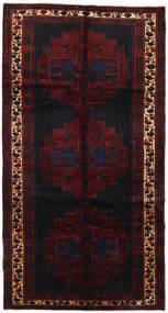 Saveh Vloerkleed 152X288 Echt Oosters Handgeknoopt Tapijtloper Donkerrood (Wol, Perzië/Iran)