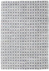 Elna - Grijs Vloerkleed 200X300 Echt Modern Handgeweven Lichtgrijs/Wit/Creme (Katoen, India)
