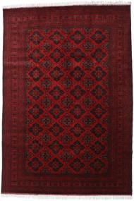 Afghan Khal Mohammadi Vloerkleed 200X293 Echt Oosters Handgeknoopt Donkerrood/Rood (Wol, Afghanistan)