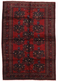 Beluch Vloerkleed 200X290 Echt Oosters Handgeknoopt Donkerrood/Donkerbruin (Wol, Afghanistan)