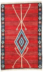 Moroccan Berber - Afghanistan Vloerkleed 118X187 Echt Modern Handgeknoopt Roestkleur/Rood (Wol, Afghanistan)
