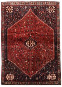Abadeh Vloerkleed 124X176 Echt Oosters Handgeknoopt Donkerrood/Donkerbruin (Wol, Perzië/Iran)