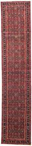 Hamadan Patina Vloerkleed 78X380 Echt Oosters Handgeknoopt Tapijtloper Rood/Donkerrood (Wol, Perzië/Iran)