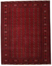 Turkaman Patina Vloerkleed 305X390 Echt Oosters Handgeknoopt Donkerrood/Donkerbruin Groot (Wol, Perzië/Iran)