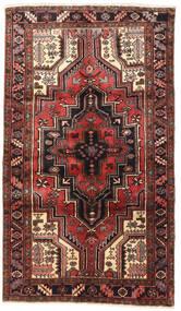 Heriz Vloerkleed 120X205 Echt Oosters Handgeknoopt Donkerbruin/Roestkleur (Wol, Perzië/Iran)