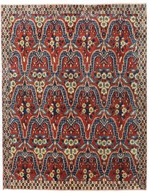 Bakhtiar Vloerkleed 195X250 Echt Oosters Handgeknoopt Donkerrood/Donkergrijs (Wol, Perzië/Iran)