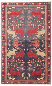 Bakhtiar Patina Vloerkleed 112X182 Echt Oosters Handgeknoopt Donkergrijs/Donkerrood (Wol, Perzië/Iran)