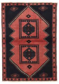 Klardasht Vloerkleed 103X149 Echt Oosters Handgeknoopt Zwart/Donkerrood (Wol, Perzië/Iran)