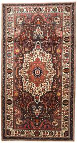 Bakhtiar Vloerkleed 165X310 Echt Oosters Handgeknoopt Tapijtloper Donkerbruin/Zwart (Wol, Perzië/Iran)