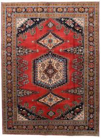 Wiss Vloerkleed 212X288 Echt Oosters Handgeknoopt Donkerbruin/Roestkleur (Wol, Perzië/Iran)