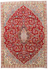 Kerman Vloerkleed 210X300 Echt Oosters Handgeknoopt Donkerrood/Roestkleur (Wol, Perzië/Iran)