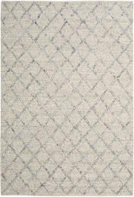 Rut - Zilver/Grijs Melange Vloerkleed 250X350 Echt Modern Handgeweven Lichtgrijs/Donkerbeige Groot (Wol, India)