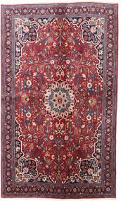 Bidjar Vloerkleed 130X220 Echt Oosters Handgeknoopt Donkerpaars/Rood (Wol, Perzië/Iran)