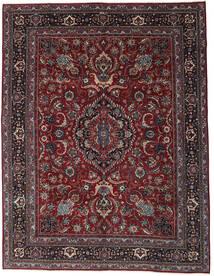 Mashad Patina Vloerkleed 304X398 Echt Oosters Handgeknoopt Donkerrood/Donkergrijs Groot (Wol, Perzië/Iran)