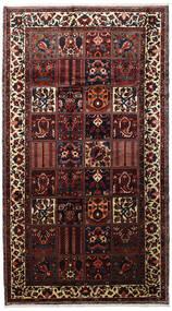 Bakhtiar Vloerkleed 173X315 Echt Oosters Handgeknoopt Tapijtloper Donkerbruin/Donkerrood (Wol, Perzië/Iran)