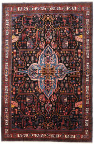Nahavand Vloerkleed 277X420 Echt Oosters Handgeknoopt Donkerrood/Donkerbruin Groot (Wol, Perzië/Iran)
