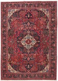 Mashad Patina Vloerkleed 257X362 Echt Oosters Handgeknoopt Donkerrood/Rood Groot (Wol, Perzië/Iran)