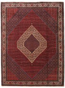 Bidjar Takab/Bukan Vloerkleed 260X345 Echt Oosters Handgeknoopt Donkerrood/Donkerbruin Groot (Wol, Perzië/Iran)