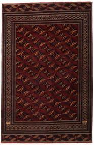 Turkaman Patina Vloerkleed 262X408 Echt Oosters Handgeknoopt Donkerrood Groot (Wol, Perzië/Iran)