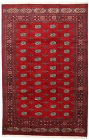 Pakistan Bokhara 2Ply Vloerkleed 202X312 Echt Oosters Handgeknoopt Rood/Donkerrood (Wol, Pakistan)