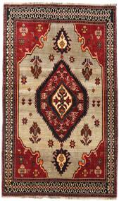 Ghashghai Vloerkleed 127X214 Echt Oosters Handgeknoopt Donkerrood/Donkerbruin (Wol, Perzië/Iran)