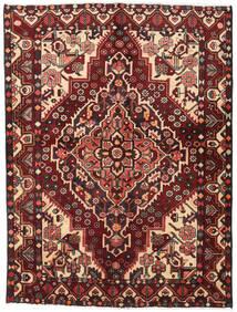 Bakhtiar Vloerkleed 156X207 Echt Oosters Handgeknoopt Donkerrood/Donkerbruin (Wol, Perzië/Iran)