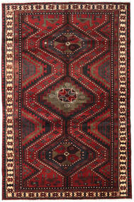 Lori Vloerkleed 161X248 Echt Oosters Handgeknoopt Donkerrood/Zwart (Wol, Perzië/Iran)