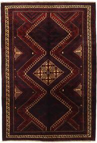 Lori Vloerkleed 188X270 Echt Oosters Handgeknoopt Donkerrood (Wol, Perzië/Iran)