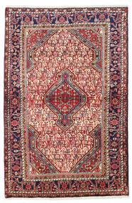 Sarough Vloerkleed 111X165 Echt Oosters Handgeknoopt Donkerrood/Roestkleur (Wol, Perzië/Iran)