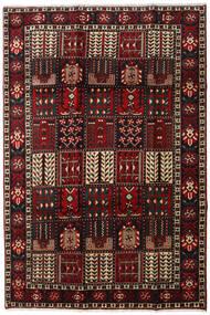 Bakhtiar Vloerkleed 205X303 Echt Oosters Handgeknoopt Donkerbruin/Donkerrood (Wol, Perzië/Iran)