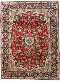 Najafabad Vloerkleed 210X280 Echt Oosters Handgeknoopt Donkerrood/Donkerbruin (Wol, Perzië/Iran)