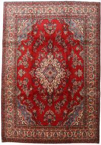 Mehraban Vloerkleed 223X324 Echt Oosters Handgeknoopt Donkerrood/Donkerbruin (Wol, Perzië/Iran)