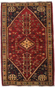 Ghashghai Vloerkleed 108X169 Echt Oosters Handgeknoopt Donkerbruin/Donkerrood (Wol, Perzië/Iran)