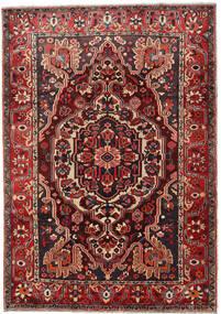 Bakhtiar Vloerkleed 218X308 Echt Oosters Handgeknoopt Donkerrood/Zwart (Wol, Perzië/Iran)