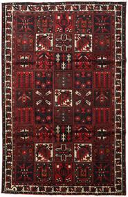 Bakhtiar Vloerkleed 202X313 Echt Oosters Handgeknoopt Donkerbruin/Donkerrood (Wol, Perzië/Iran)