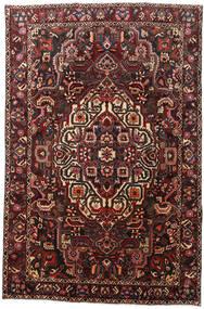Bakhtiar Vloerkleed 204X307 Echt Oosters Handgeknoopt Donkerrood/Zwart (Wol, Perzië/Iran)