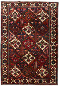 Bakhtiar Vloerkleed 220X316 Echt Oosters Handgeknoopt Donkerrood (Wol, Perzië/Iran)
