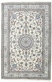 Nain Vloerkleed 198X304 Echt Oosters Handgeknoopt Lichtgrijs/Beige (Wol, Perzië/Iran)