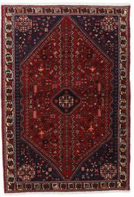 Abadeh Vloerkleed 102X150 Echt Oosters Handgeknoopt Donkerrood (Wol, Perzië/Iran)