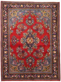 Wiss Vloerkleed 165X225 Echt Oosters Handgeknoopt Donkerpaars/Donkerrood (Wol, Perzië/Iran)