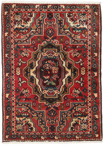 Bakhtiar Vloerkleed 103X145 Echt Oosters Handgeknoopt Donkerbruin/Donkerrood (Wol, Perzië/Iran)