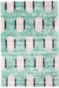 Catalpa - Groen Vloerkleed 160X230 Modern Pastel Groen/Beige ( India)