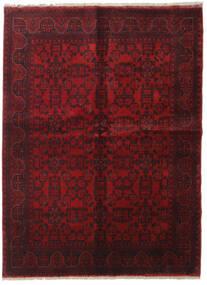 Afghan Khal Mohammadi Vloerkleed 198X289 Echt Oosters Handgeknoopt Donkerrood/Donkerbruin (Wol, Afghanistan)