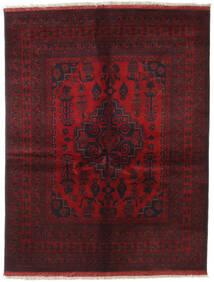 Afghan Khal Mohammadi Vloerkleed 151X196 Echt Oosters Handgeknoopt Donkerrood/Donkerbruin (Wol, Afghanistan)