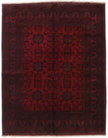 Afghan Khal Mohammadi Vloerkleed 154X198 Echt Oosters Handgeknoopt Donkerrood (Wol, Afghanistan)