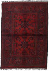 Afghan Khal Mohammadi Vloerkleed 103X146 Echt Oosters Handgeknoopt Donkerrood (Wol, Afghanistan)