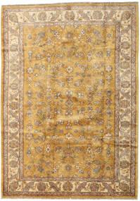 Ziegler Vloerkleed 185X259 Echt Oosters Handgeknoopt Lichtbruin/Donkerbeige (Wol, Afghanistan)