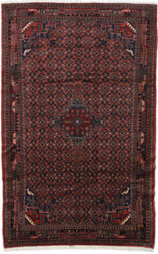 Koliai Vloerkleed 200X310 Echt Oosters Handgeknoopt Donkerrood/Zwart (Wol, Perzië/Iran)